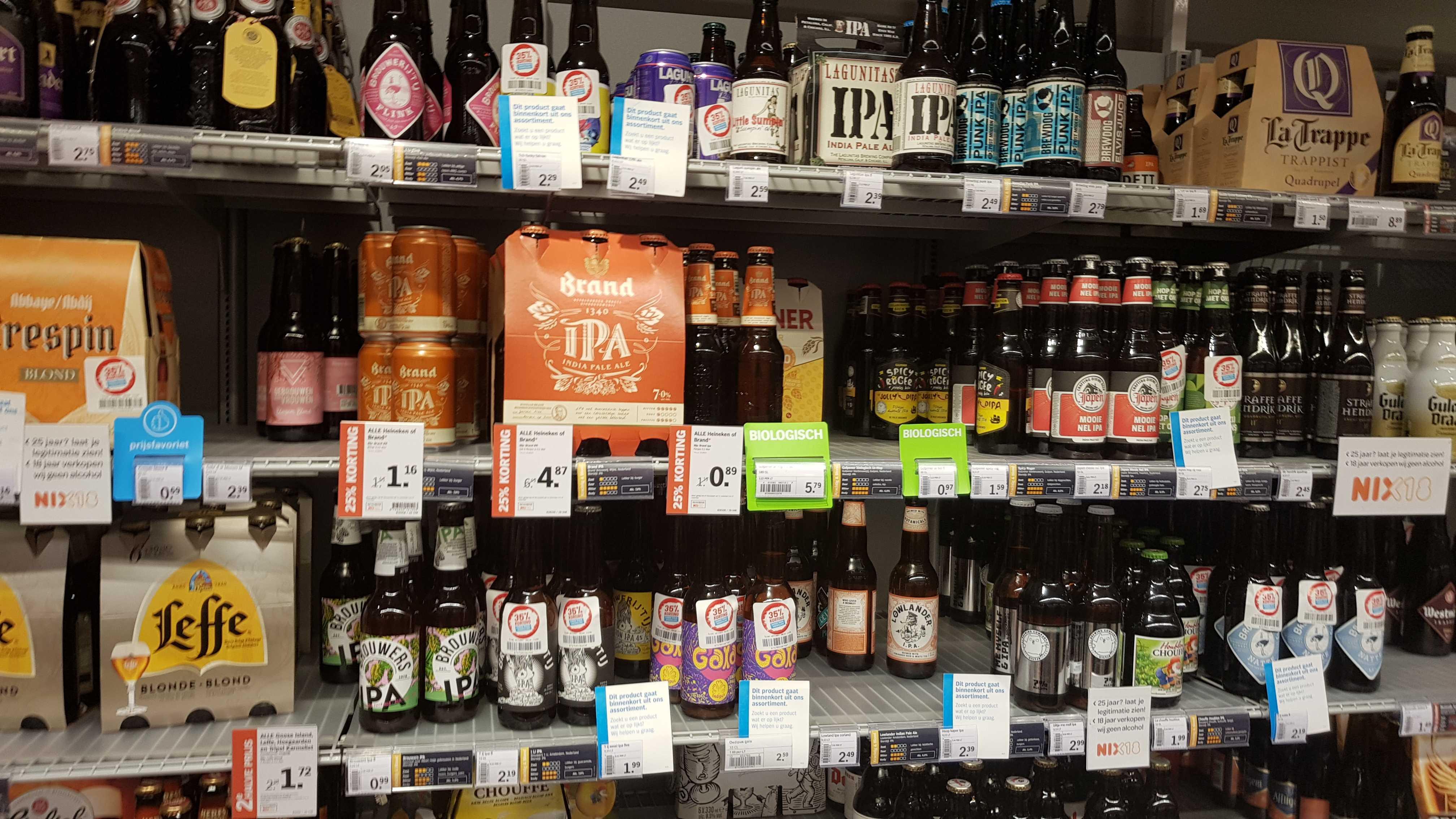 [Lokaal] Veel speciaalbieren -35% @ AH Deventer Colmschate