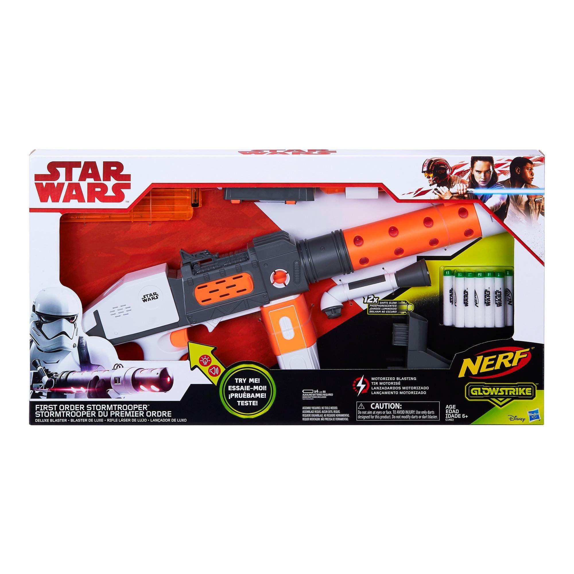 Nerf Star Wars First Order Stormtrooper Deluxe Blaster @dagknaller.nl