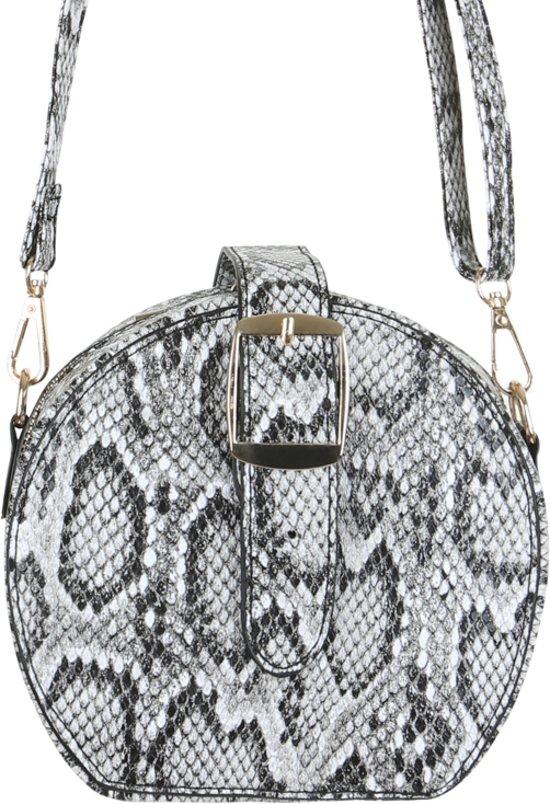 [PRIJSFOUT] Crossbody tas met slangenprint (grijs) voor €1 @ Bol.com Plaza