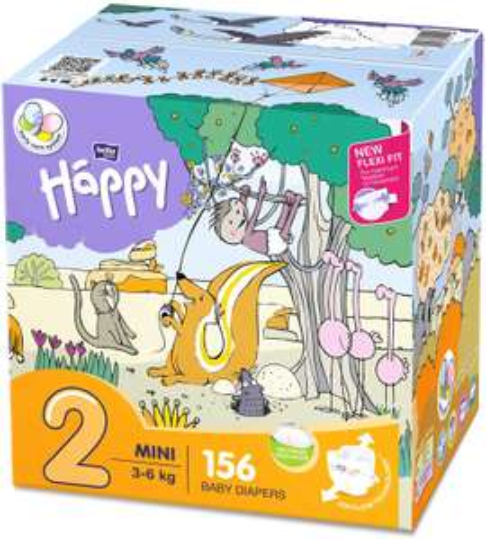 €5 coupon + 5% korting op bella baby Happy luiers