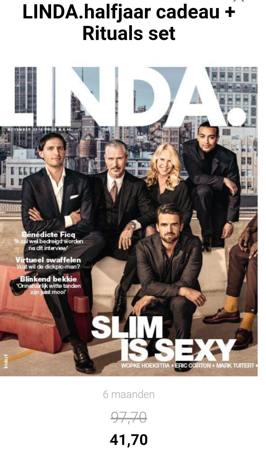 6x Linda magazine + Ritual of happy buddha pakket (t.w.v. €56) voor €41.70!