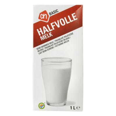 [Grensdeal België] zeer goedkope literpakken AH basic uht melk 1L