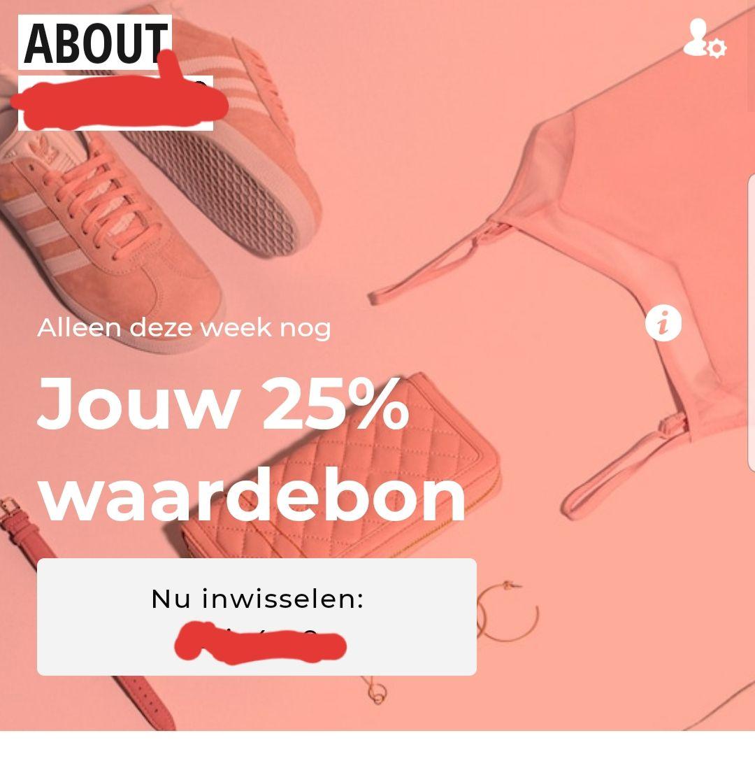 ABOUYOU 25% korting vanaf 75 euro + gratis verzending en retour
