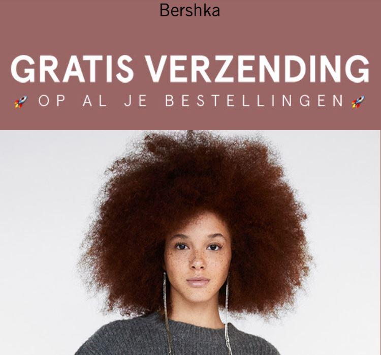 Gratis verzending t.w.v. €3,95 + sale tot -40% @ Bershka