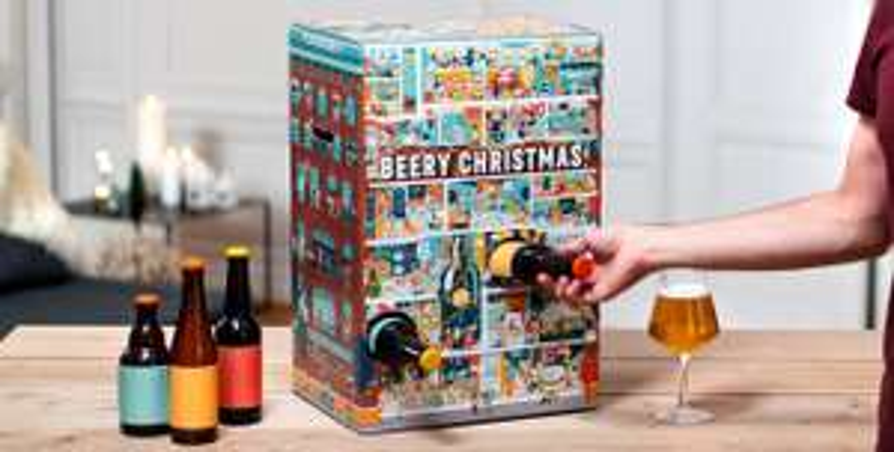20% Korting op Beery Christmas adventskalender van Hopt.nl