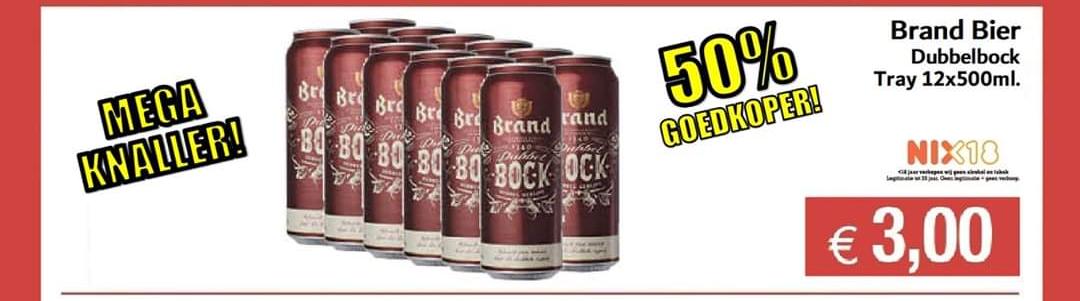 Budgetfood 6 liter Brand Herfstbock voor €3