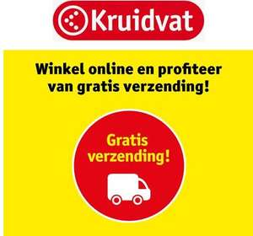 Pre- sale + GRATIS Verzending black friday t/m cyber monday @ Kruidvat (kaarthouders)