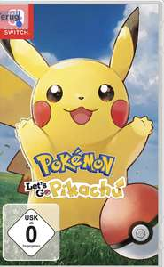 Pokemon let's go pikachu voor de switch.