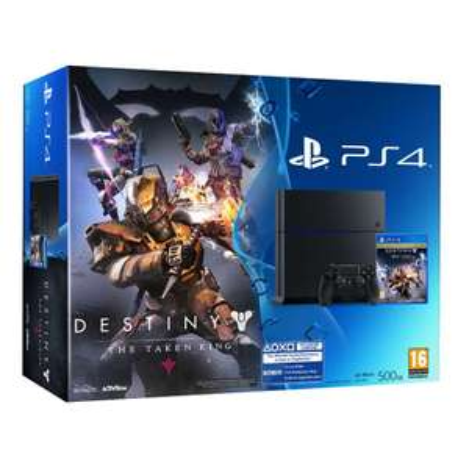 KORTINGSFOUT: PlayStation 4 500GB + Destiny The Taken King Legendary Edition @ Bart Smit