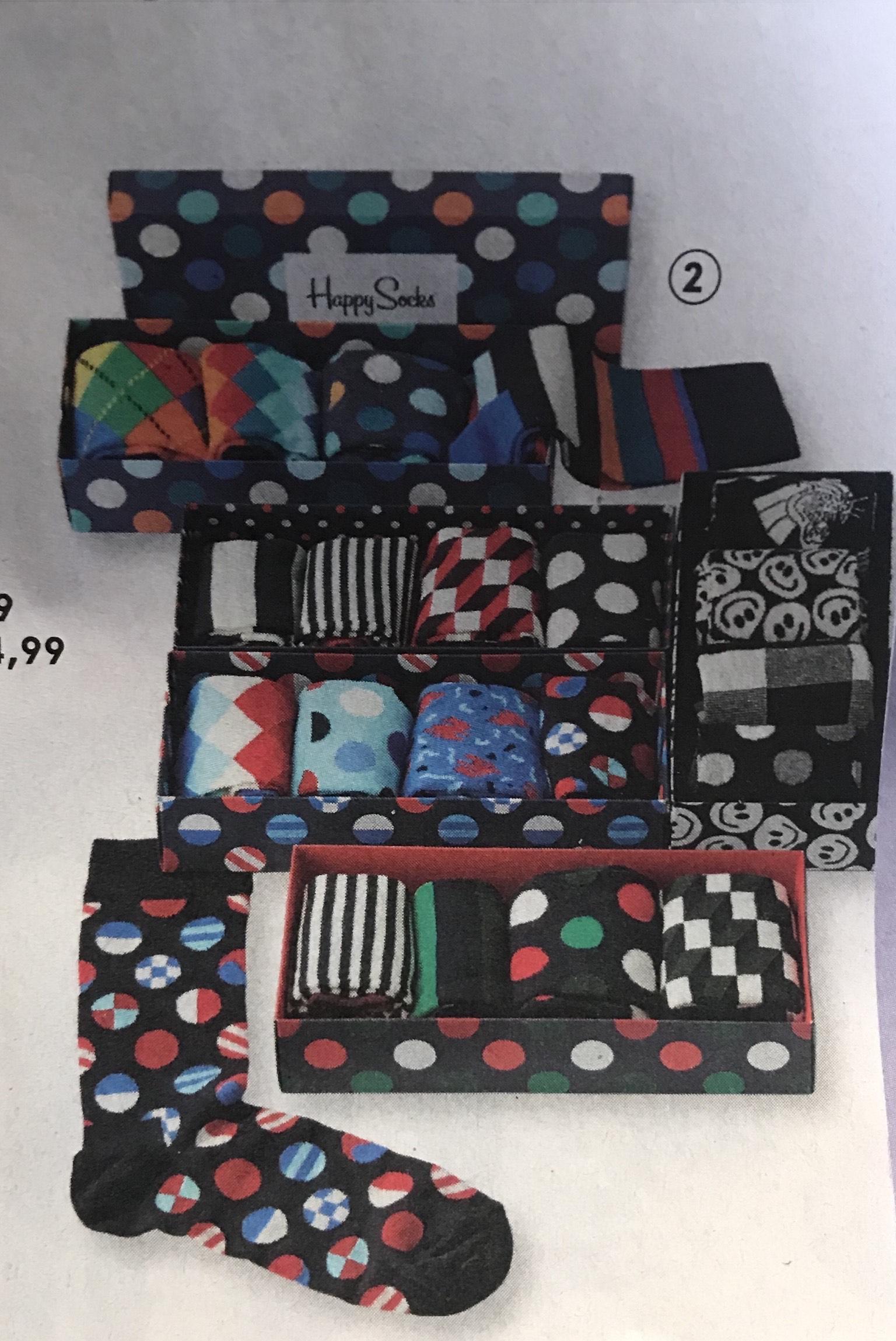 Happy Socks 4-pack