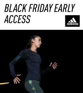 APP: Early Acces Black Friday sale: tot -50% + 20/25/30% extra @ adidas
