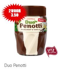 Duo Penotti Maxi Potti (615gr), 2 voor €3,50 (€1,75 per pot!)