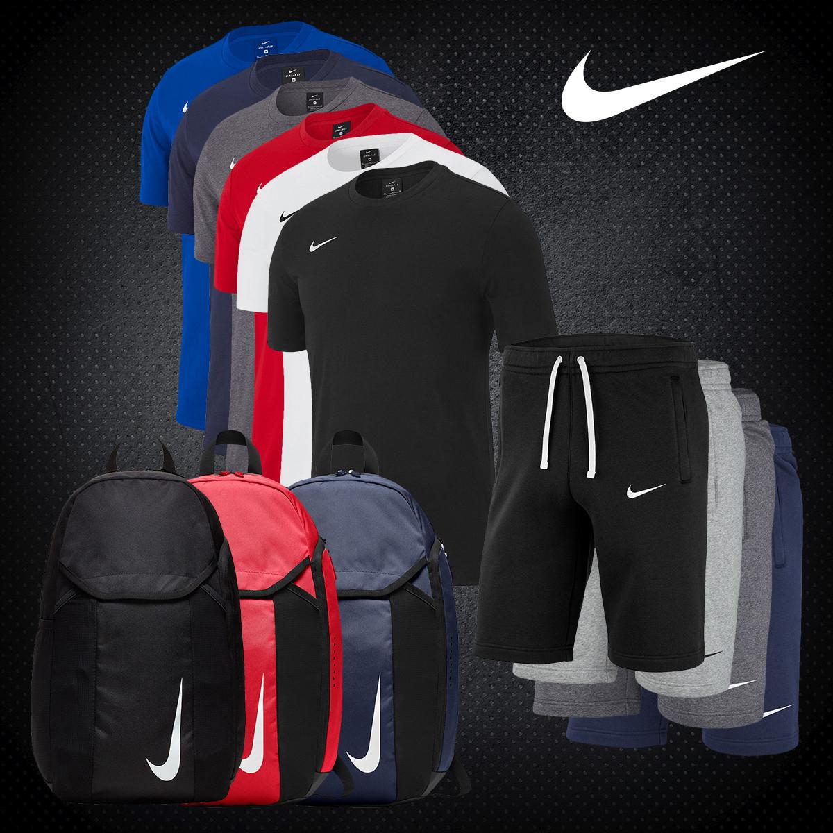 Nike Team Club 3-delige set + gratis verzending t.w.v. €9,95 @ Geomix