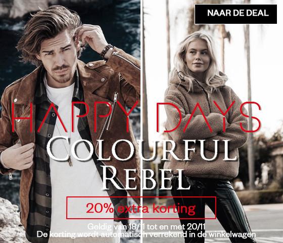 20% extra korting op alles van Colourful Rebel @ maisonlab