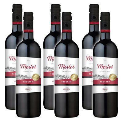 [Grensdeal] Wein-Genuss Merlot 0,75l voor €1 @ Marktkauf Nordhorn
