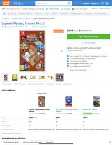 Layton's mystery journey Switch Deluxe Edition