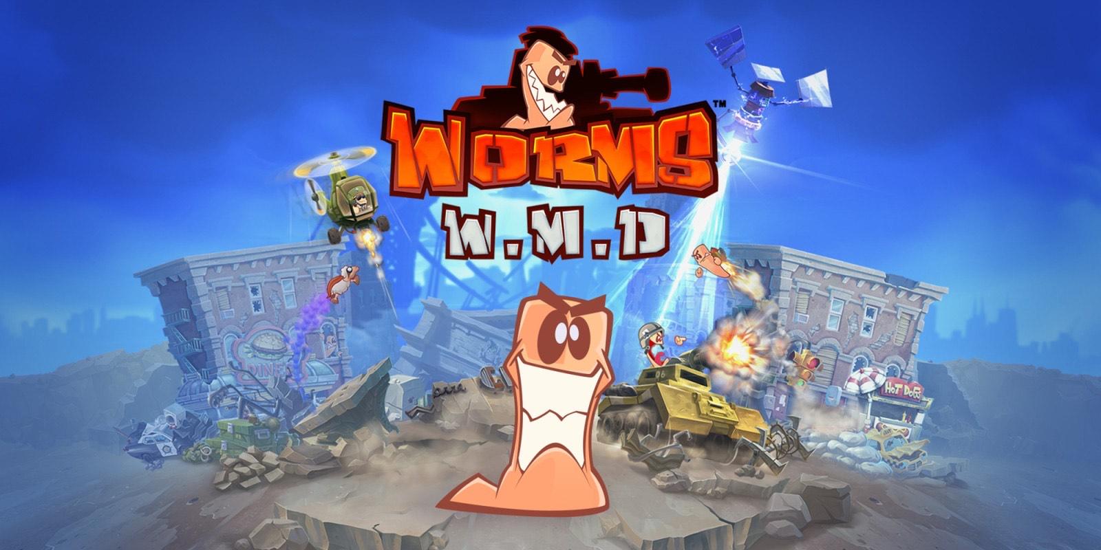 Worms W.M.D. nu met 66% korting in de Nintendo e-shop