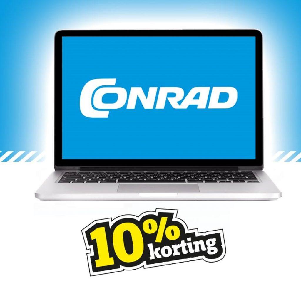 Conrad.nl 10% korting op alles
