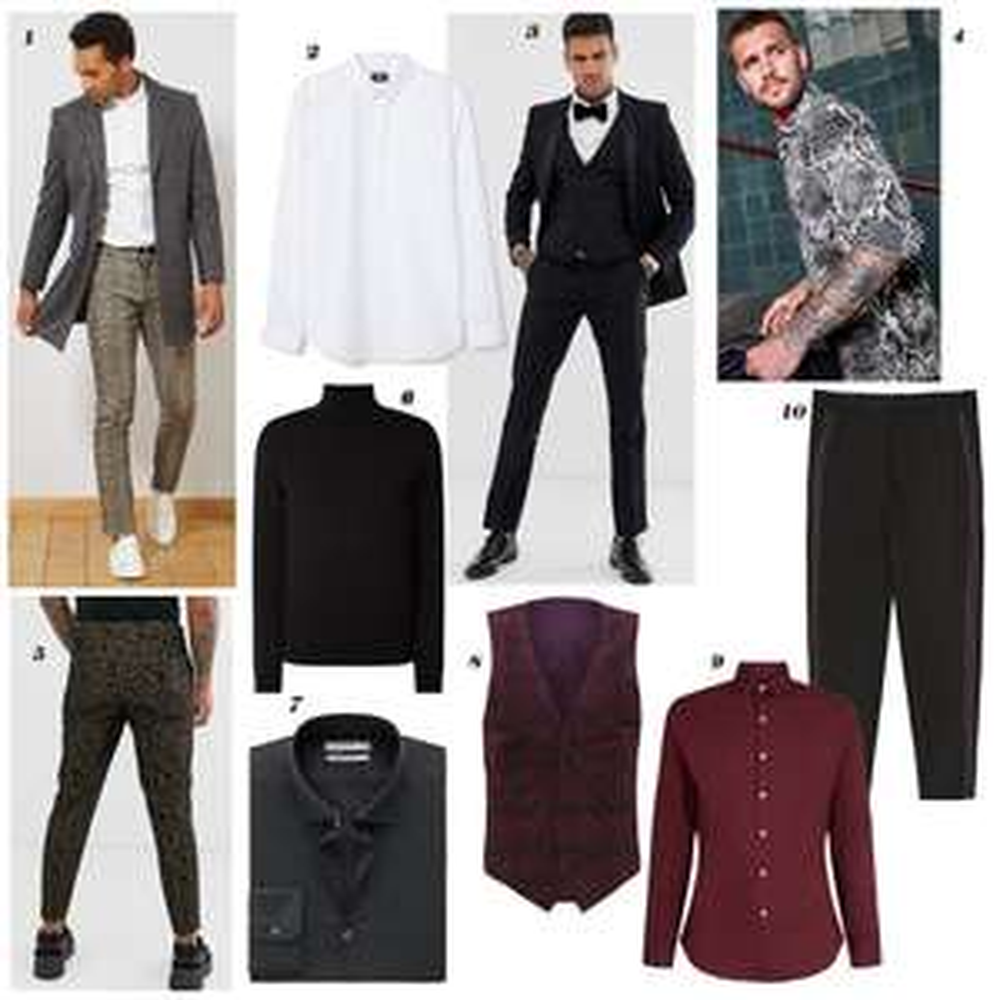 Feestmode - budget editie heren - #1. blouses, broeken & meer