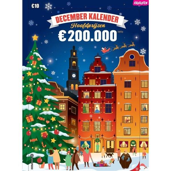 €1.- of €2,50 korting op Decemberkalender bij Kruidvat met inlevering punten
