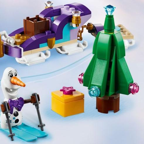 Gratis Olafs reisslee bij LEGO bij Frozen aankopen vanaf €50,-