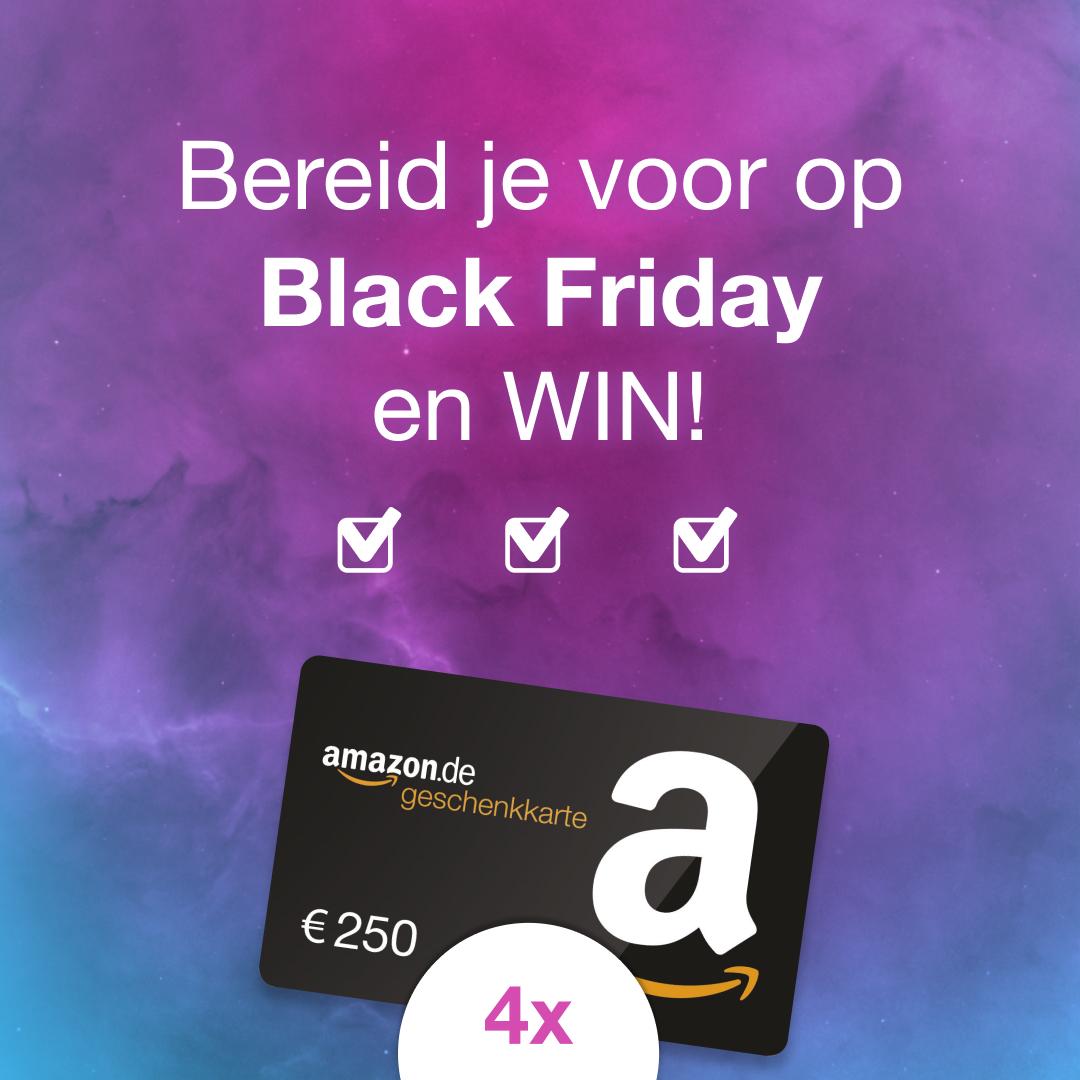 Black Friday 2019 Checklist - maak kans op €250 shoptegoed (4x)