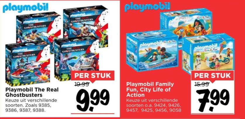 Playmobil deals €7,99 // €9,99 @ Vomar