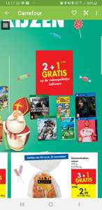 (Grensdeal BE) Carrefour - Games 2+1