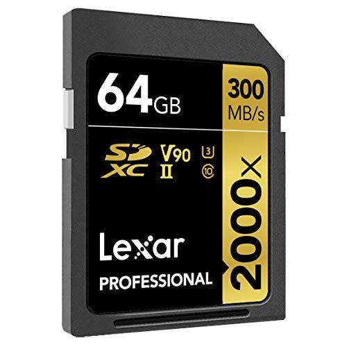 Lexar SDXC 64gb 2000x uhs-ii