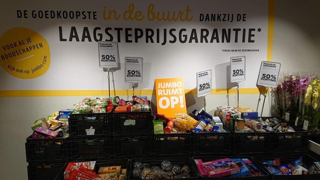 Jumbo: 50% korting op veel producten