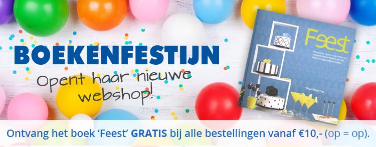 Het boek Feest helemaal gratis bij een minimale besteding vanaf €10 @ Boekenfestijn