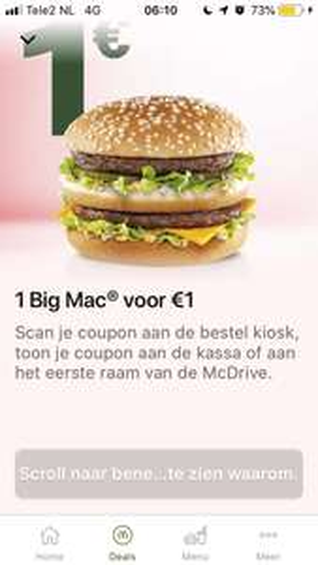 [België] 1 BigMac €1