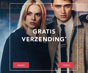 Gratis verzending (t.w.v. €4,99) + 10% extra korting @ dress-for-less