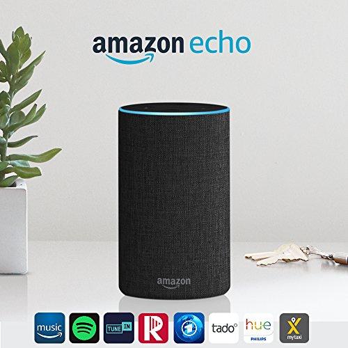 Amazon Echo 2de generatie (Verzending naar Nederland) @ Amazon.de