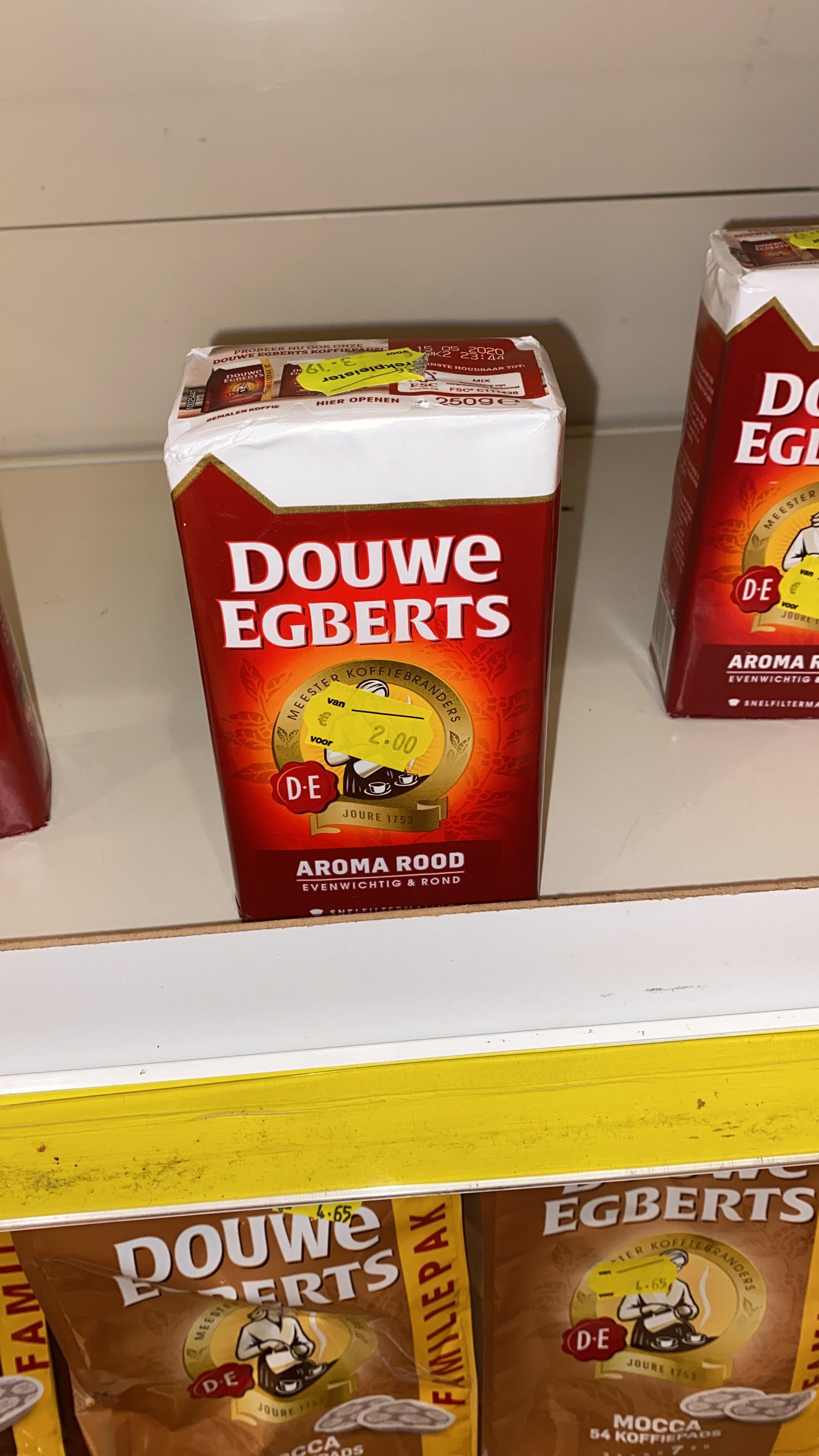 (Lokaal) Douwe Egberts Aroma Rood voor €2,-
