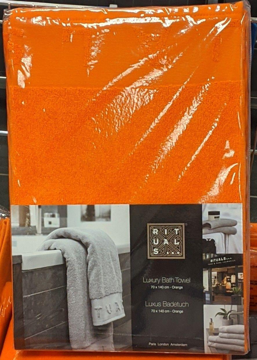 Rituals Oranje handdoek 70x140