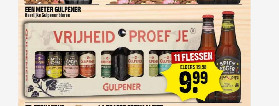 Goedkope Frisdrank & Gulpener en gratis thuisbezorging bij DIRCK III
