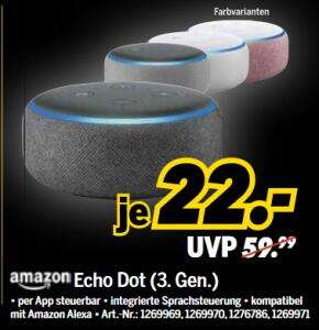 [Grensdeal] Echo dot €22,- & Fire 4k stick €29,99 @Medimax