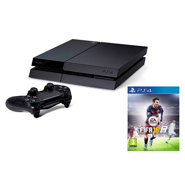Voordeelbundel: 1TB PS4 + Gratis FIFA 16 voor €369 @ Bol.com