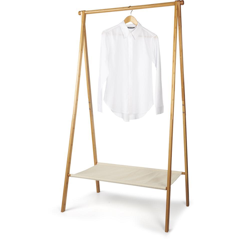 Bamboo kledingrek -50% @ Blokker