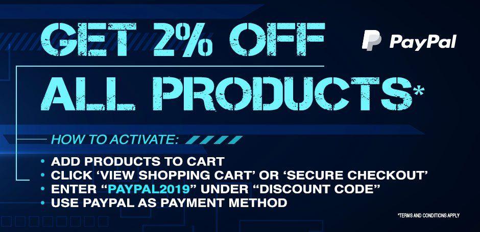 CDKeys 2% korting bij betalen via PayPal met code