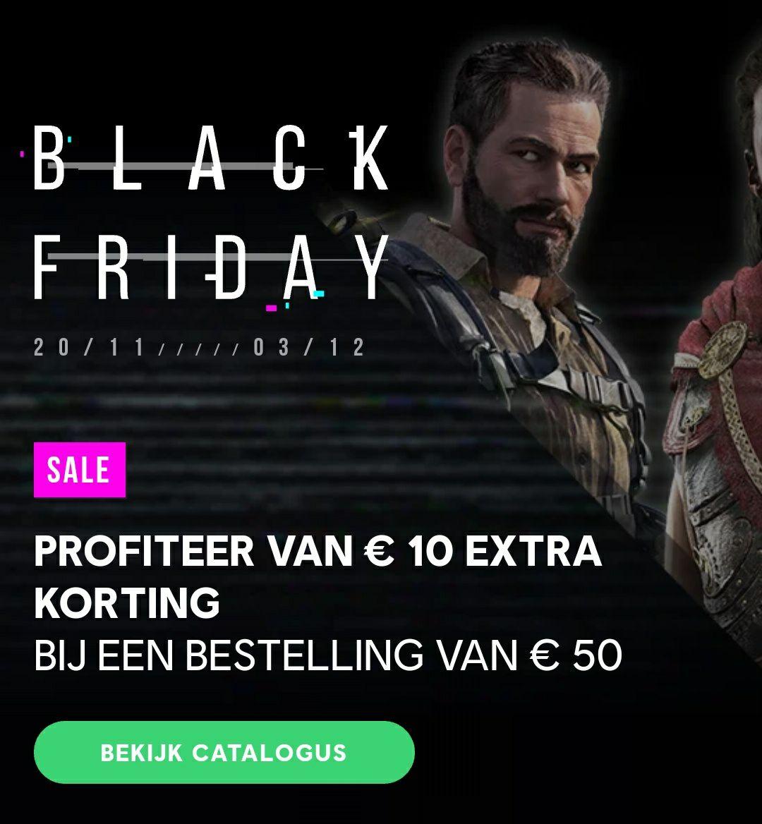 Ubisoft Black Friday Sale | Tot 90% korting | +€10 korting