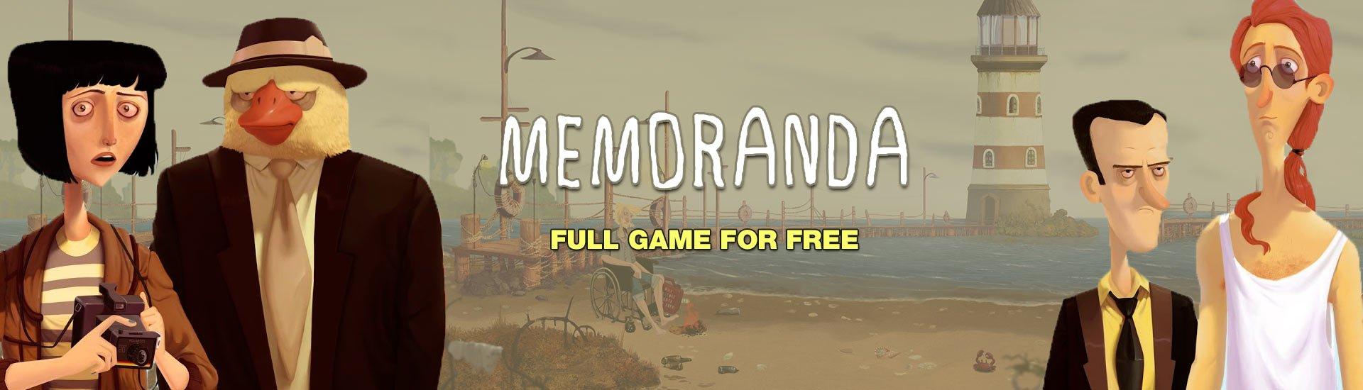 Gratis game Memoranda @Indiegala