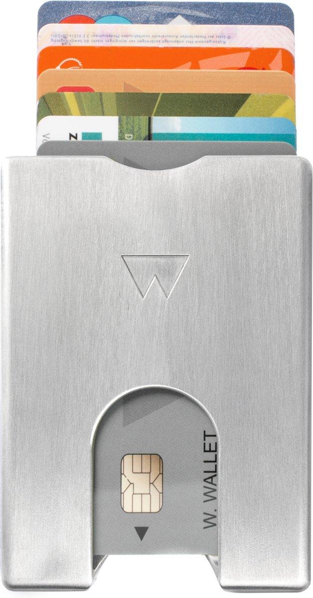 Walter Wallet Aluminium groen voor €10,69 / zilver voor €13,99 @ Bol.com