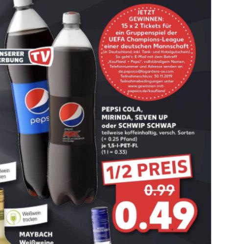 Pepsi, 7up (Grensdeal)