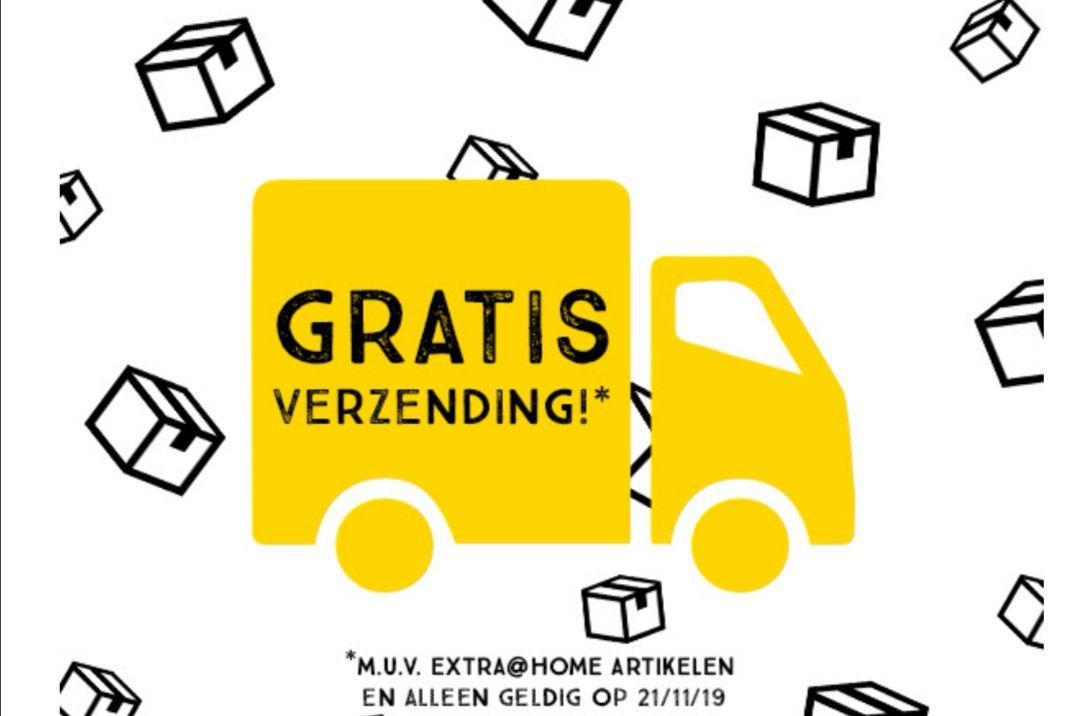 Ook vandaag 23-11 gratis verzending vanaf € 15 @ Xenos