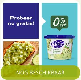Gratis Optimel Salade Komkommer Munt