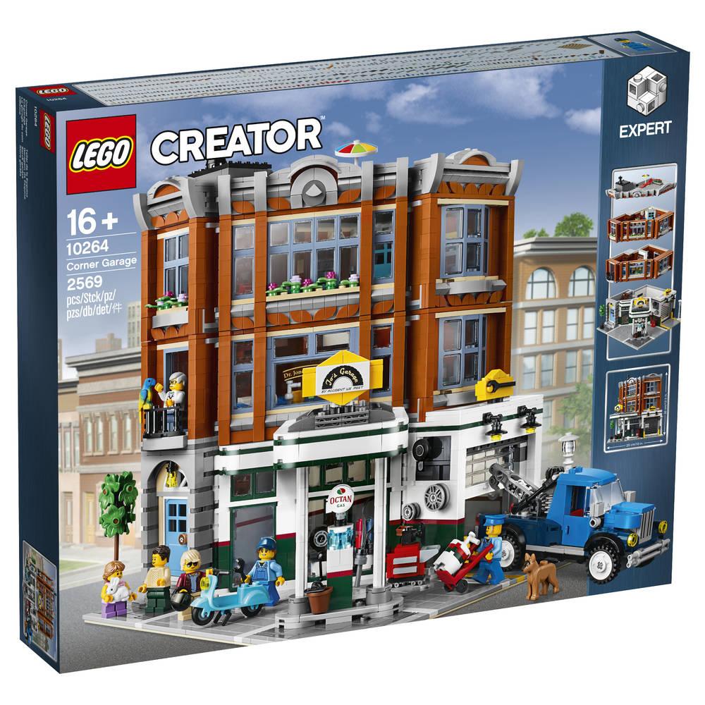 LEGO Creator Expert garage op de hoek 10264