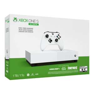 (Black Friday) Intertoys - Xbox One S All-Digital 1TB console + games