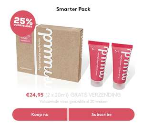 5 euro korting op je deodorant bestelling (+gratis verzending)